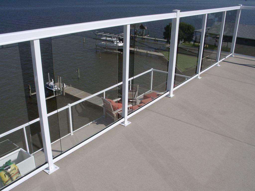 Durarail Component Glass Rail