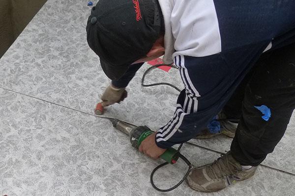 Heat welding Duradek