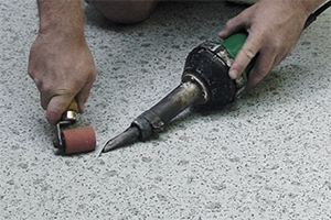 Repairing a seam