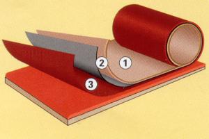 Duradek Membrane Construction